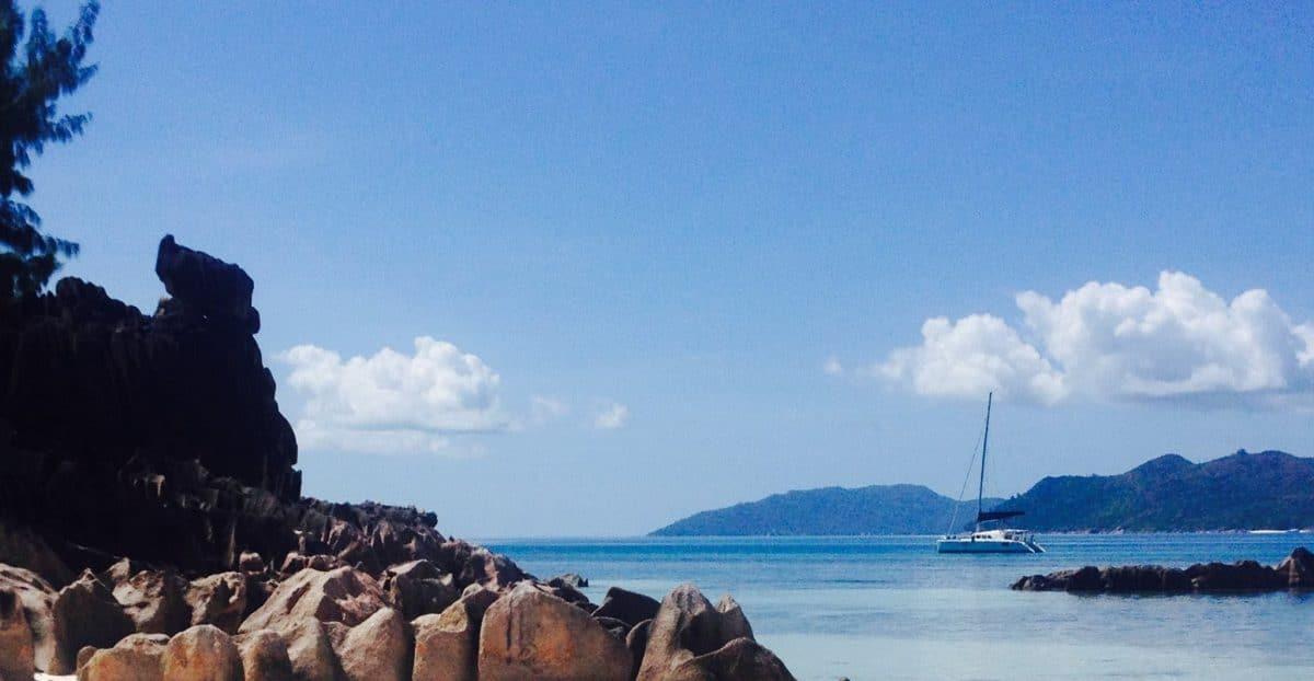 Catamarano Seychelles