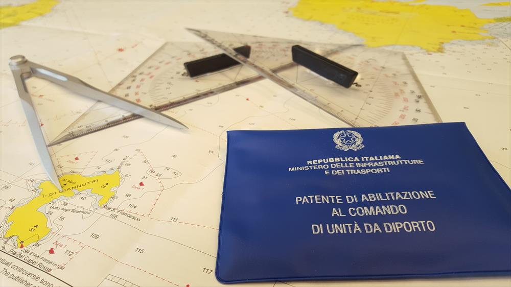 Patente nautica a Roma