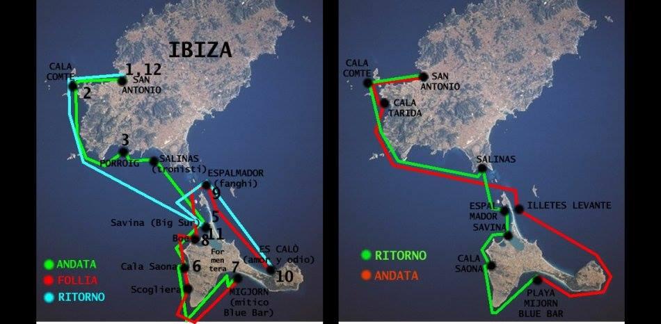 Ibiza-Formentera in barca a vela