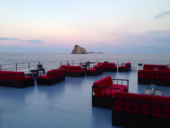 terrazza raya, panarea